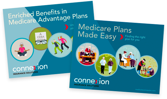 Medicare e-book covers